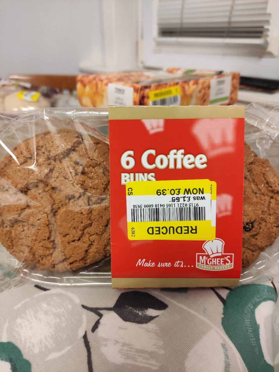 Coffee buns biscuits x1