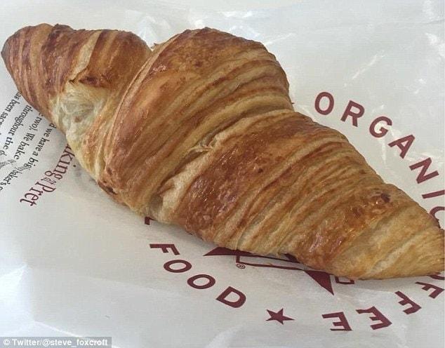 1 x Pret Plain Croissant