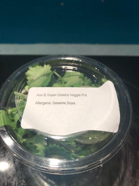 Pret Avo and Super Greens Veggie Pot