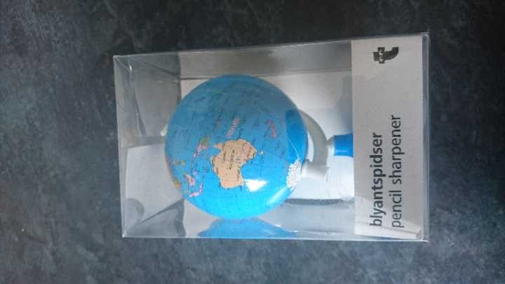 World pencil sharpener