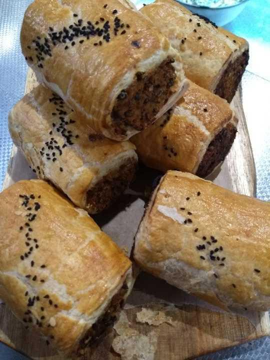 Sweet potato veg roll x7