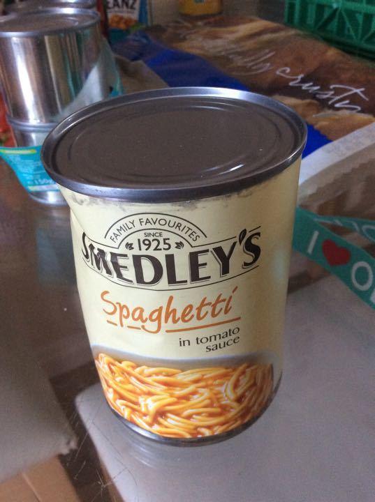 Spaghetti in tom sauce