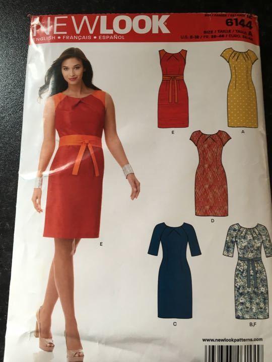 Dress pattern (free with a magazine) Anyone fancy making a dress ?