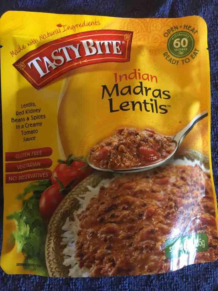 Madras lentils - fresh! BB 2020!