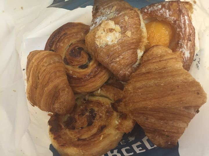 4 Sweet Pastries Left