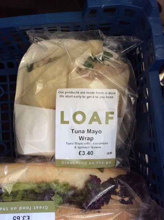 Tuna mayo wrap