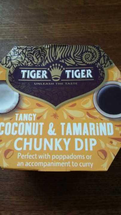 Coconut and Tamarind dip