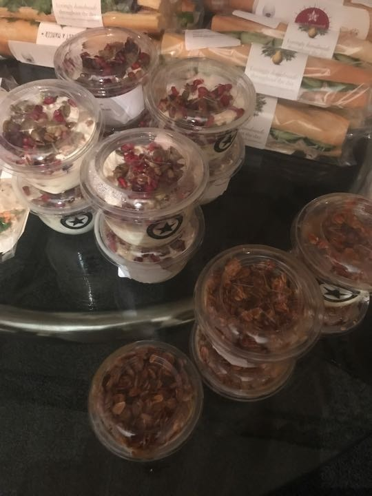 Pret A Manger Breakfast Items