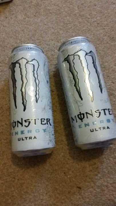 2 x Monster Energy Ultra