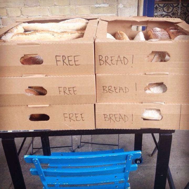 Bread - about 40 loaves
