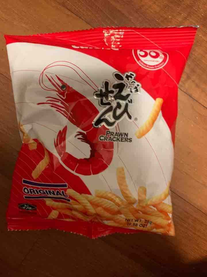 Calbee shrimp snack