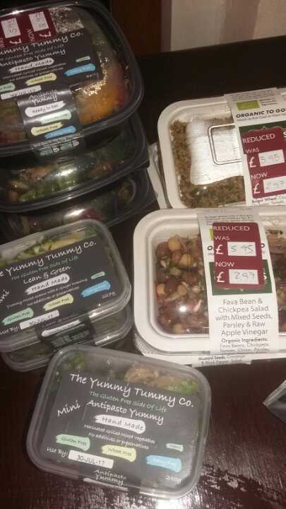 Gluten free / vegan dishes