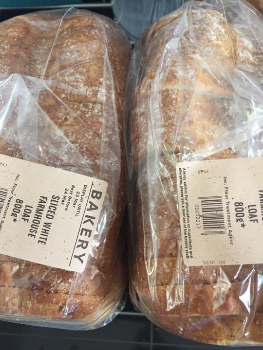 White bread 800g x 2