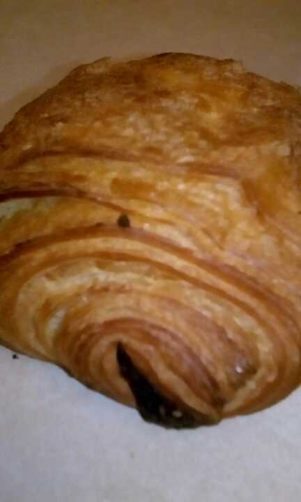 Planet Organic's chocolate croissant