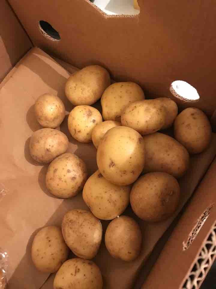 Loose potatoes