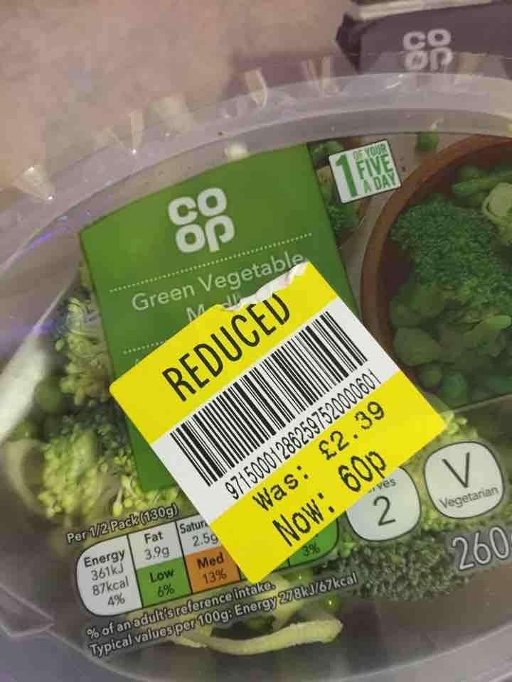Green vegetable medley