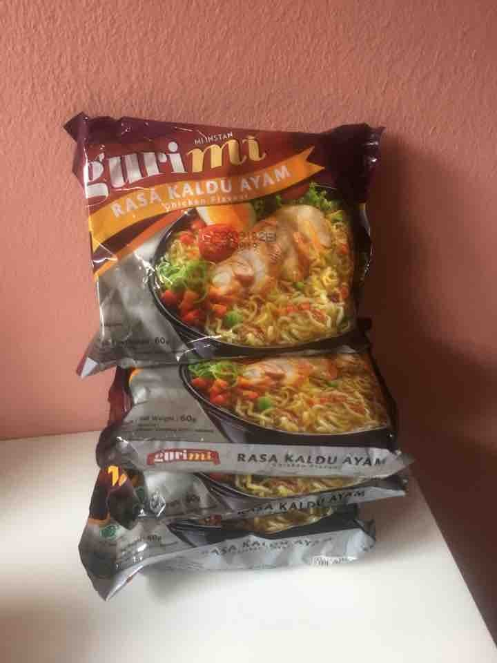 4 x instant noodles (reserved)