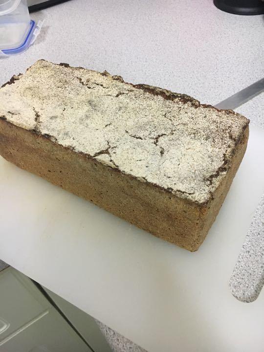 Rye sourdough loaf-roggenbrot