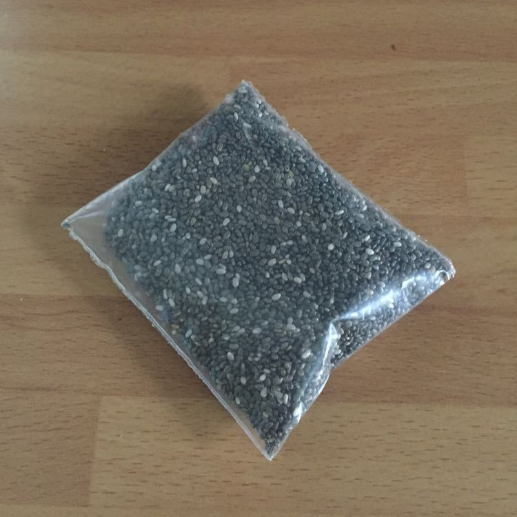 Chia seed pouch