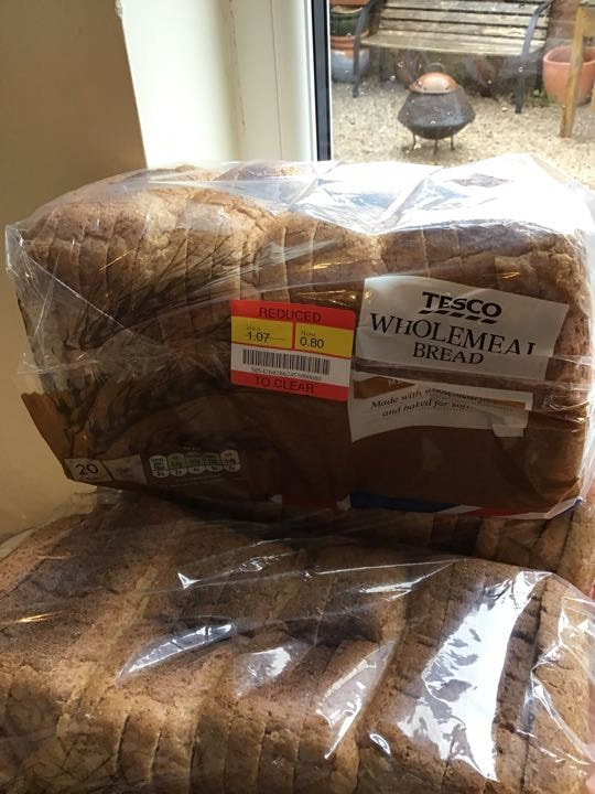 Wholemeal bread x 4