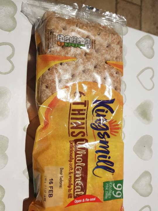 Wholemeal thins