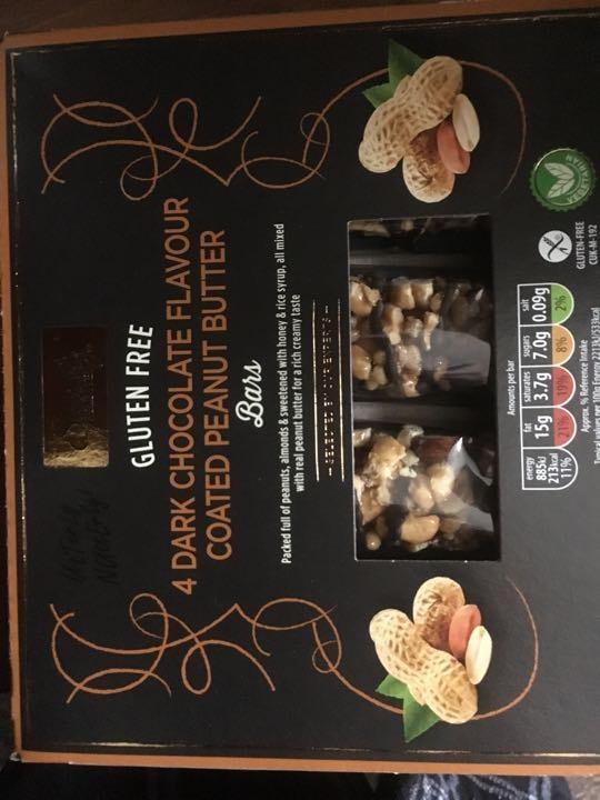 Gluten free chocolate bars