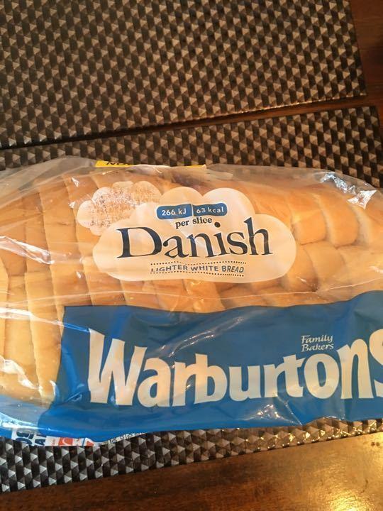 Warburton  Danish Whitebread