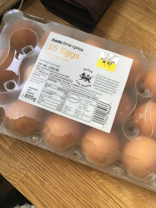 15 eggs!