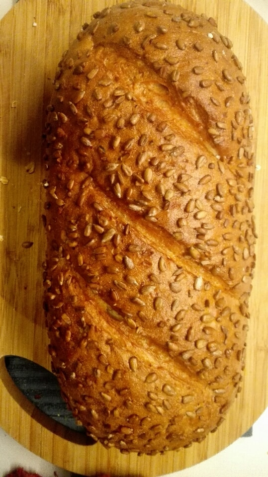 Big Sunflower seed bread (17/8)  from Lindquist Konditorit