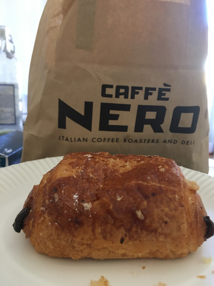 Chocolate croisssant from CAFE NERO
