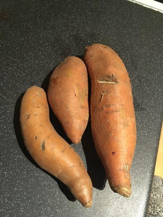 Small sweet potatoes