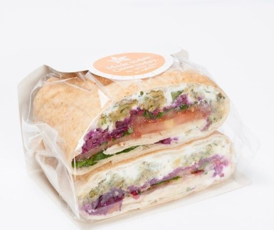 Meat/fish Pret flatbreads up for grabs!