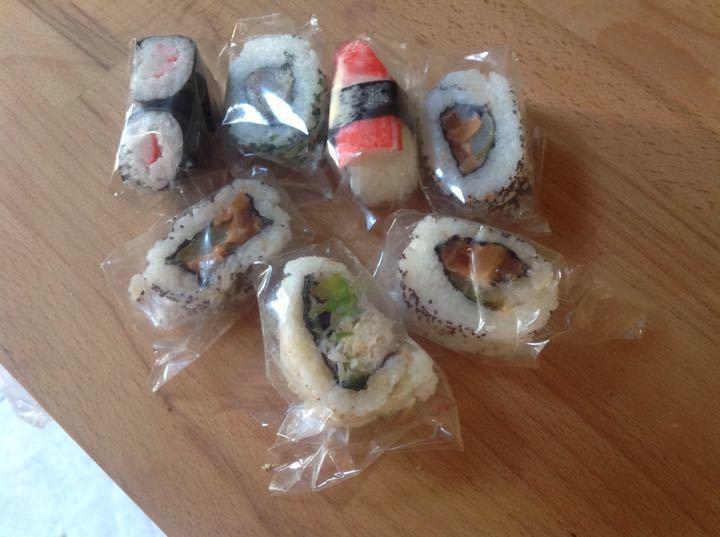 Sushi mix from Bento