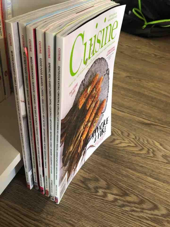 Cuisine magazines 6x