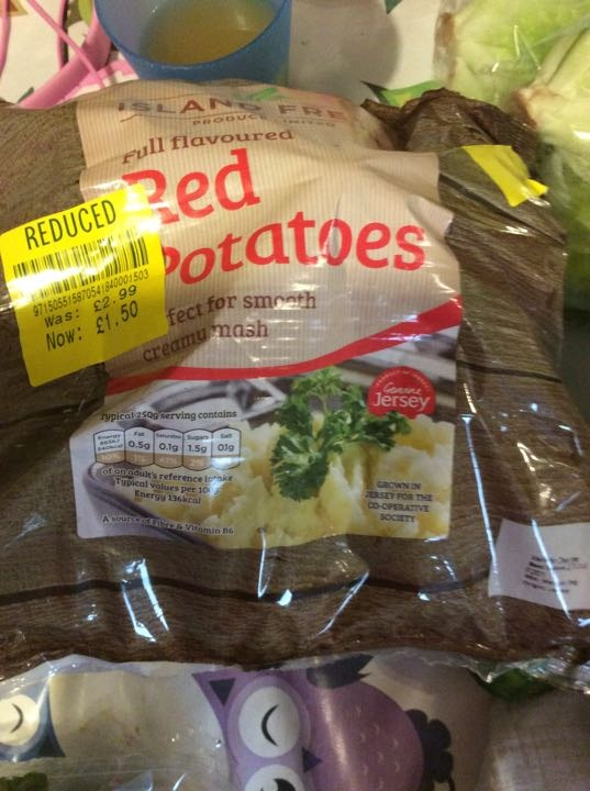 Red potatoes x 1