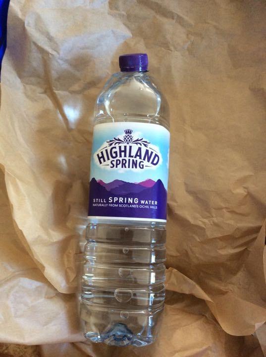 1.5 liter highlands spring still water x 3