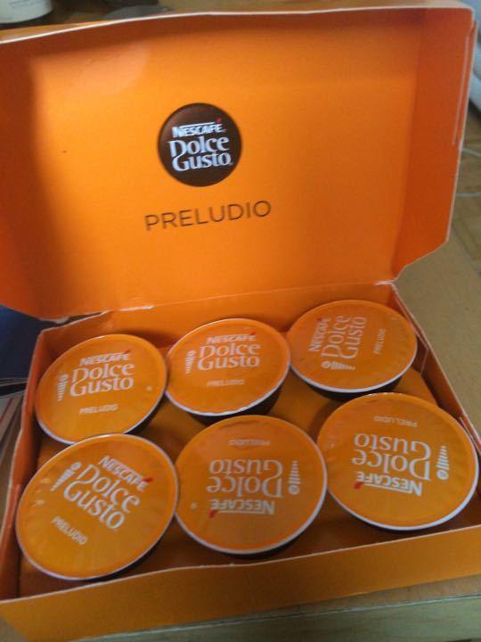 Nescafe Dolce Gusto XL coffee cartridges