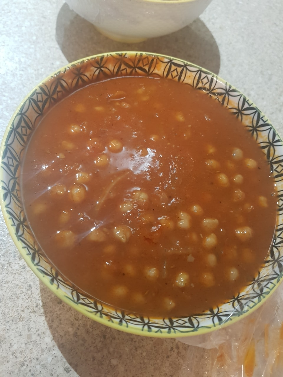 Home made curries : dal makhani (vegan) and chickpeas curry (vegan) and chicken curry