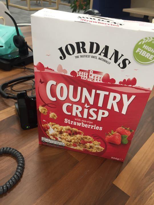 Jordans Country Crisp - Strawberry