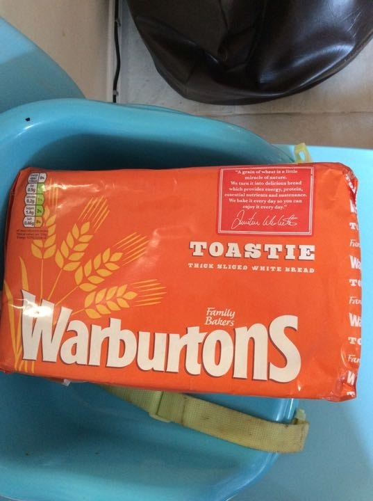 Warburtons toasted white