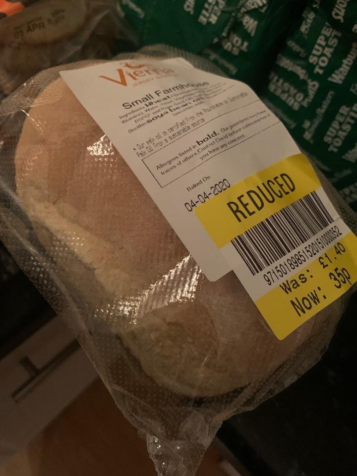 Small farmhouse bread