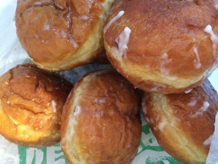 Plum doughnuts ( polish bakery )