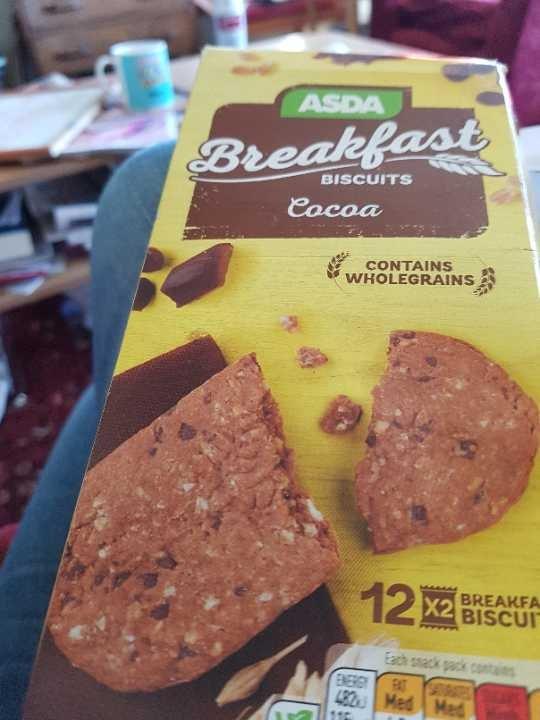 asda breakfast biscuits
