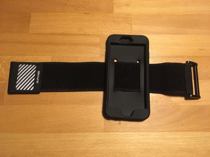 iPhone 7 plus running armband