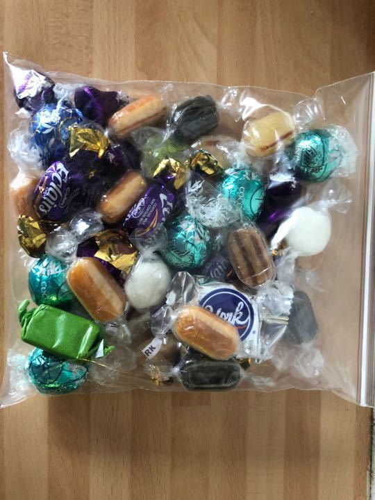 Selection of chocolates and sweets