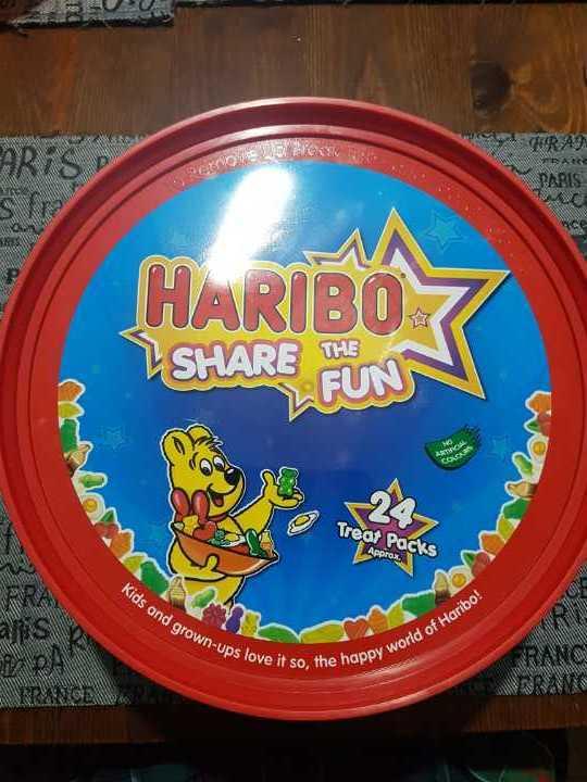HARIBO treat pack box