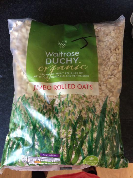 Jumbo rolled oats - unopened