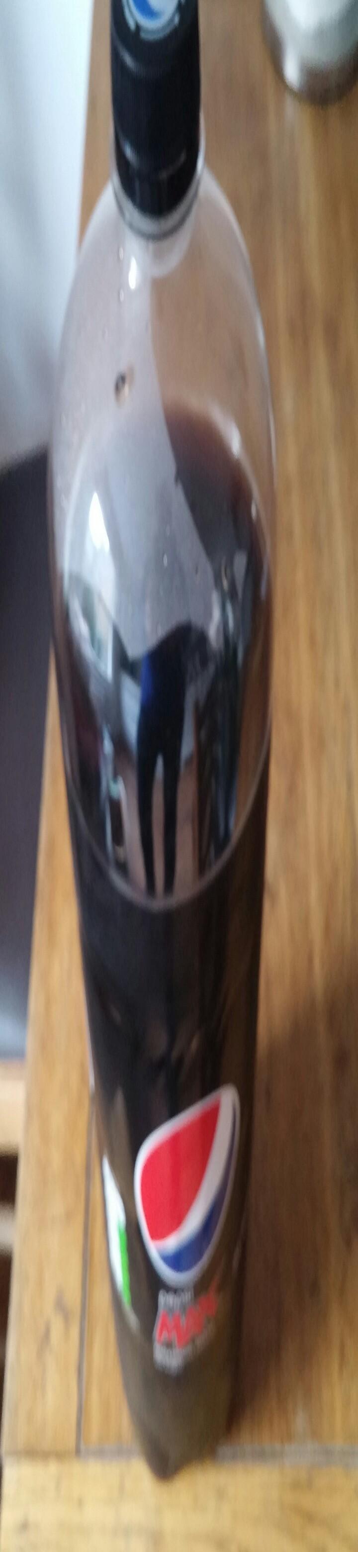 Free opened bottle of Pepsi max