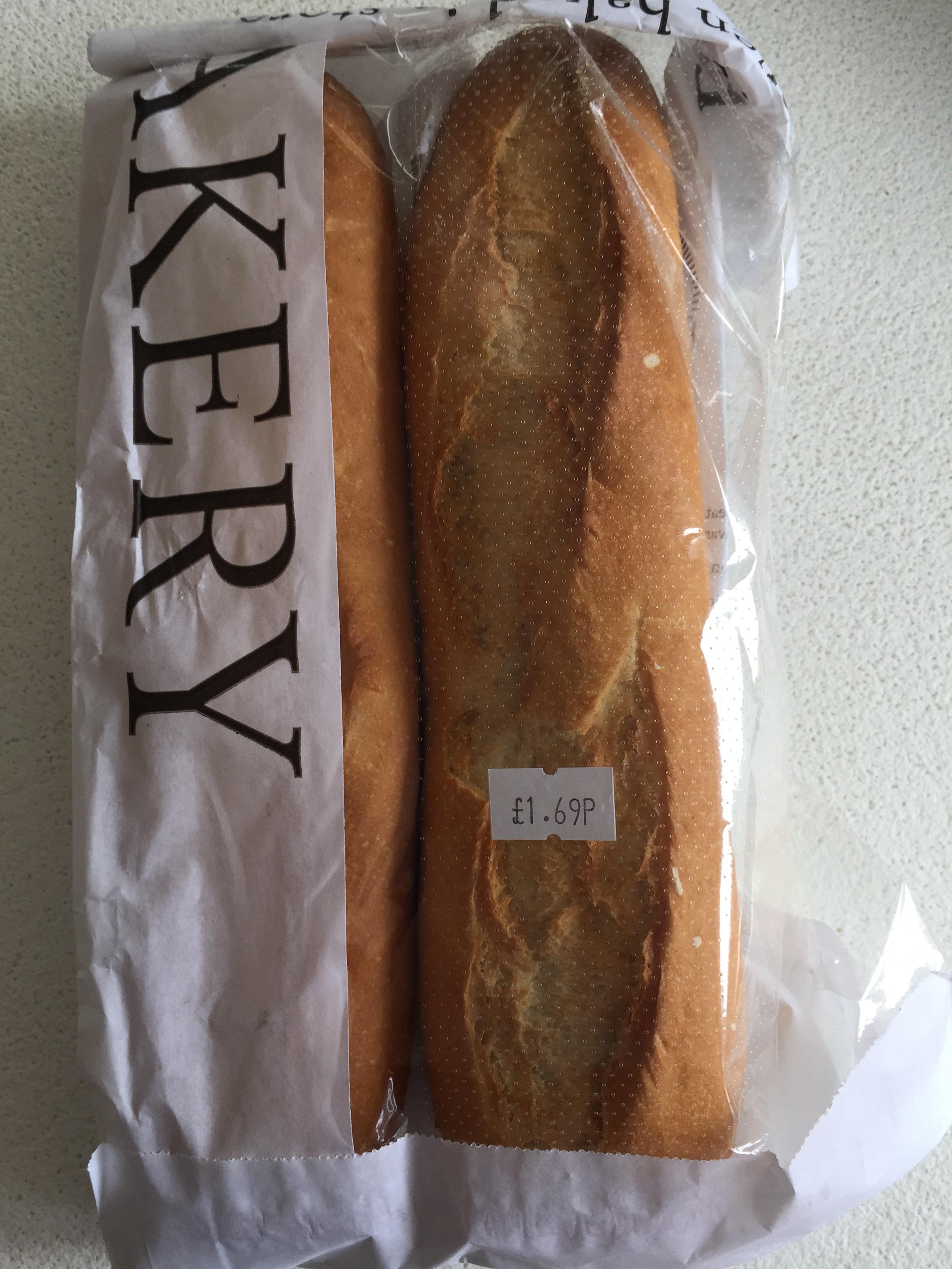 2 baguettes