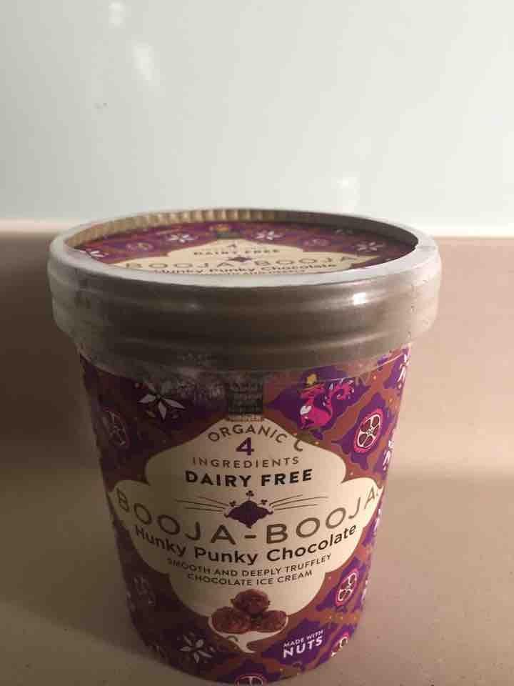 New Organic Booja Booja Truffle Chocolate Ice-cream